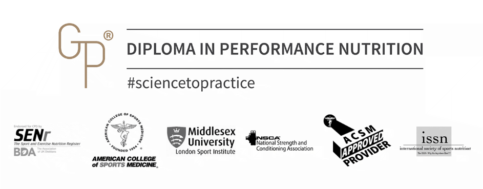 Guru Performance Institute Diploma in Performance Nutrition recognition