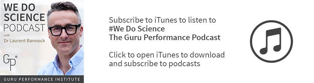We do Science! The Guru Performance Podcasts banner