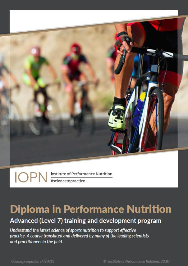 IOPN Diploma course brochure cover